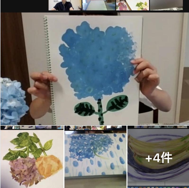 オンライン絵画クラス